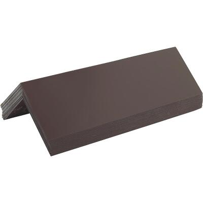 NorWesco 4 In. x 12 In. Galvanized Pre-Bent Step Flashing Shingle