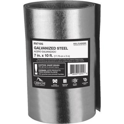 NorWesco 7 In. x 10 Ft. Mill Galvanized Roll Valley Flashing
