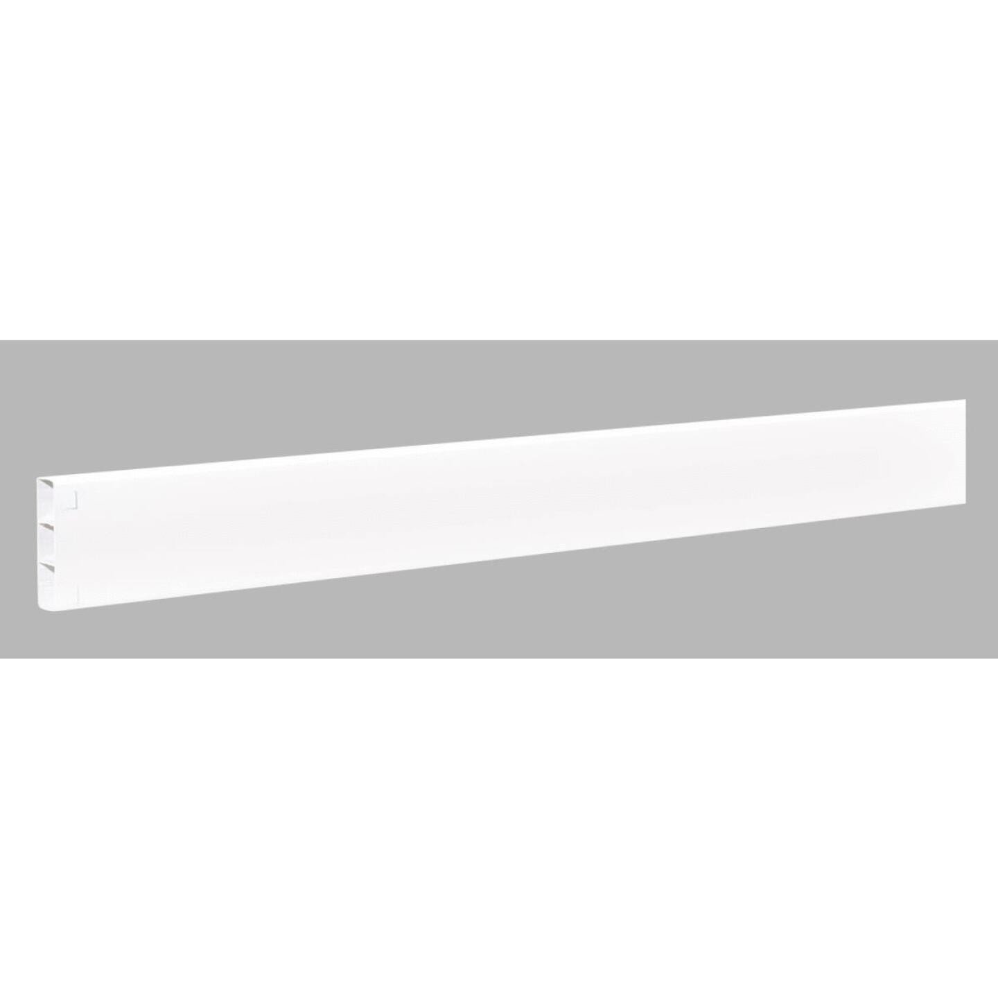 Outdoor Essentials 2 In. x 6 In. x 192 In. White Vinyl Fence Rail Image 1