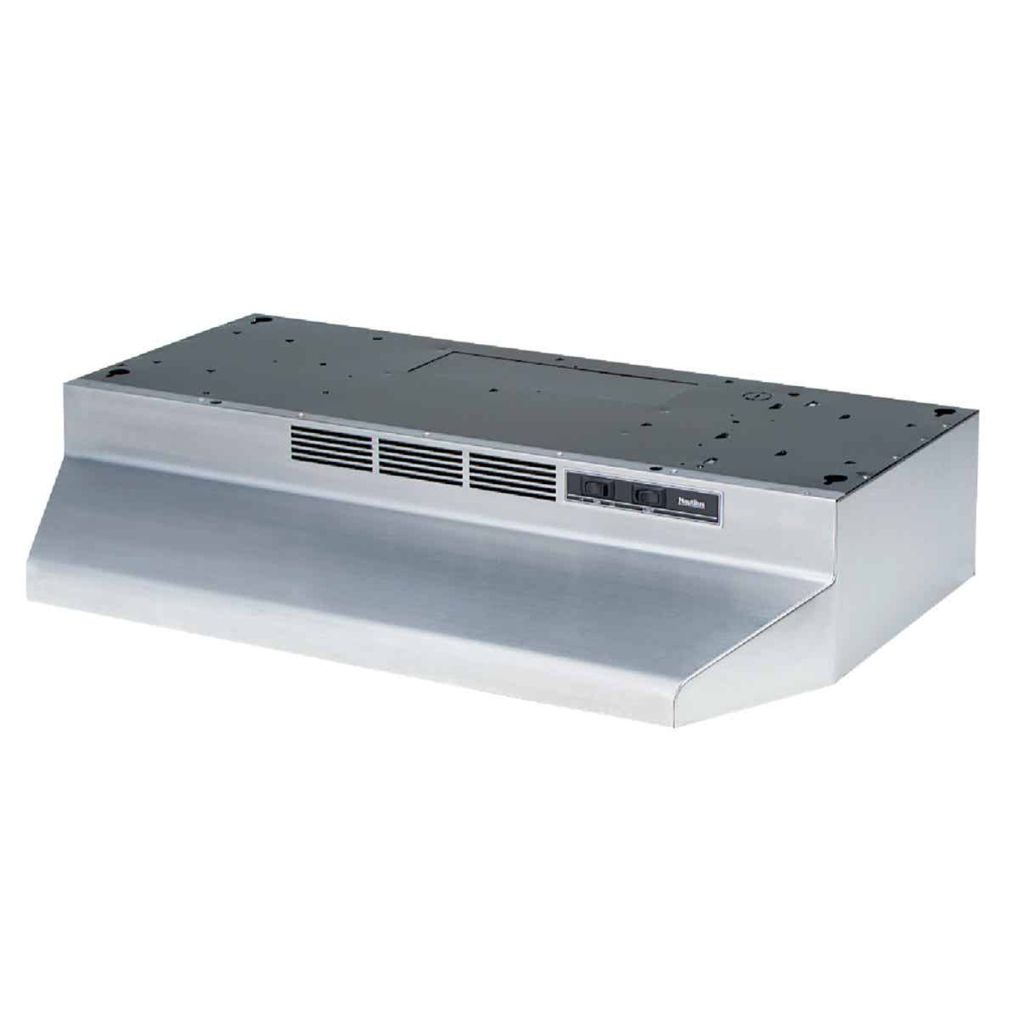 Broan-Nutone 41000 Series 30 In. Non-Ducted Stainless Steel Range Hood Image 1