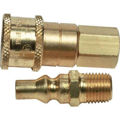 MR. HEATER 1/4 In. Brass Gas Connector