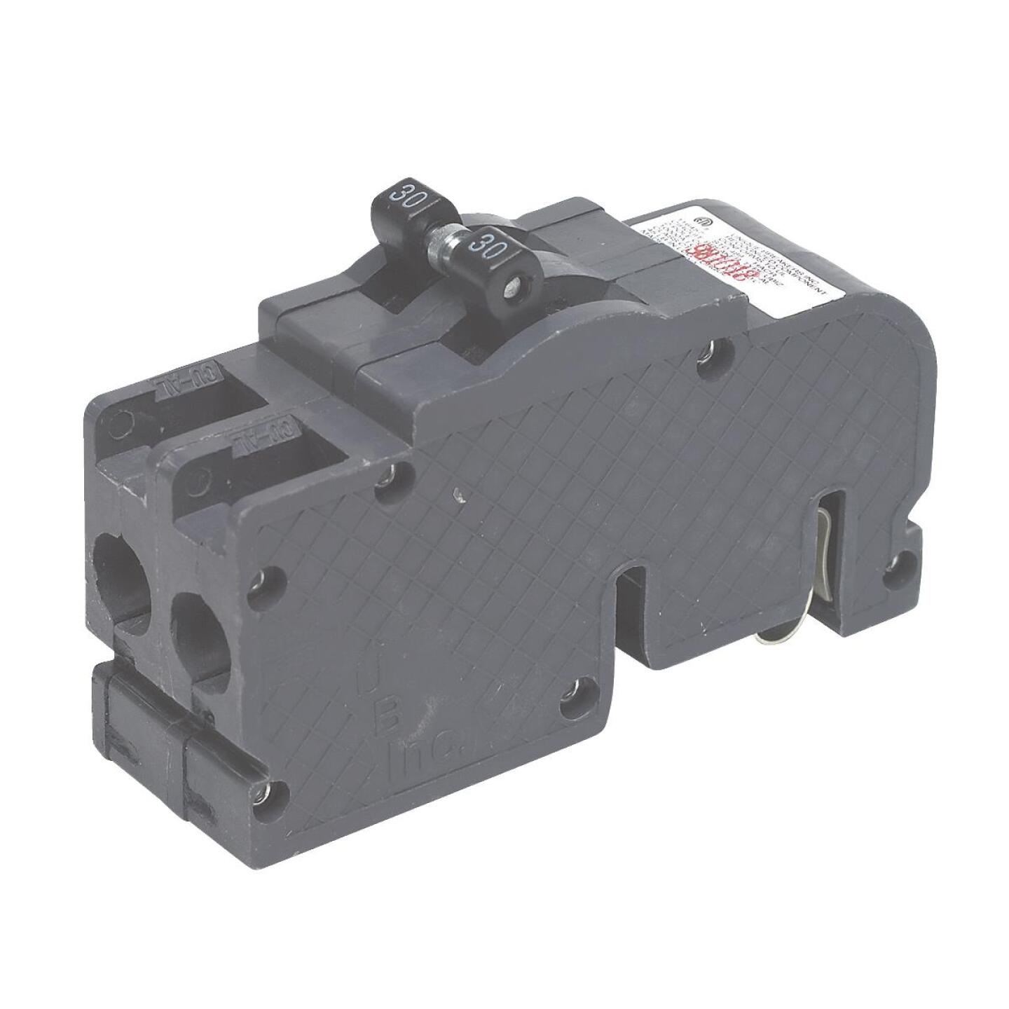 Connecticut Electric 30A Double-Pole Standard Trip Packaged Replacement Circuit Breaker For Zinsco Image 1