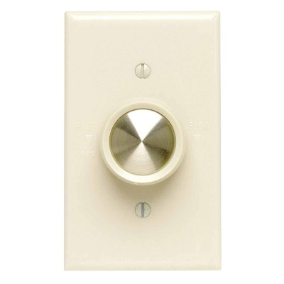 Do it Best Ivory Variable-Speed Rotary Fan Control Switch