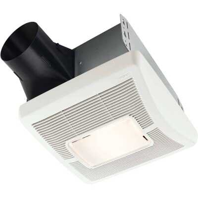Broan 110 CFM 1.3 Sones 120V Bath Exhaust Fan with Light