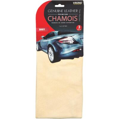Viking 3 Sq. Ft. Leather Premium Chamois