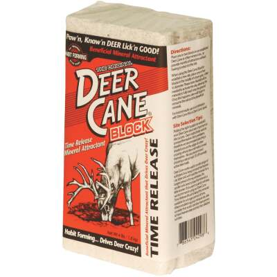 Deer Cane 4 Lb. Time-Release Block Deer Mineral Attractant