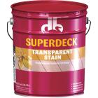 Duckback SUPERDECK VOC Transparent Exterior Stain, Canyon Brown, 5 Gal. Image 1